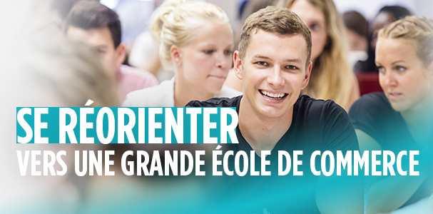Grande école de commerce en France